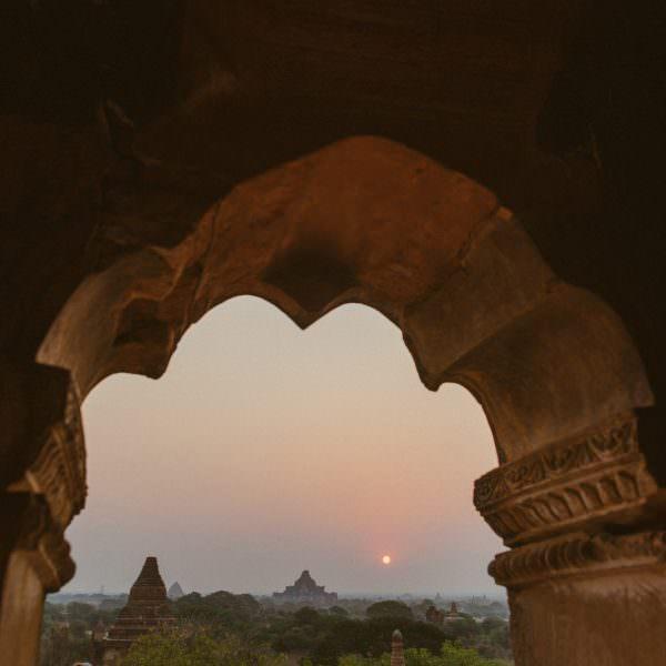 Tempelstadt Bagan & tauchen am Ngwesaungbeach